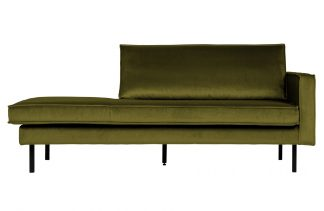 Rodeo daybed right velvet olive