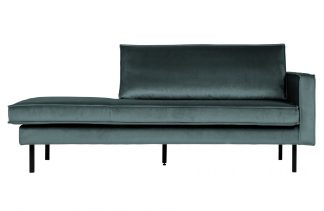 Rodeo daybed right velvet teal