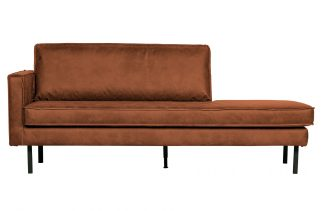 Rodeo daybed left cognac