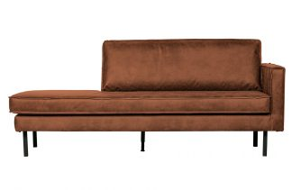 Rodeo daybed right cognac