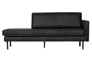 Rodeo daybed right schwarz