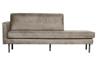 Rodeo daybed left elephant skin