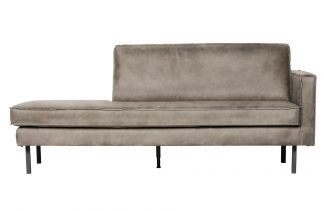 Rodeo daybed right elephant skin