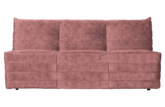 Bag couch samt pink
