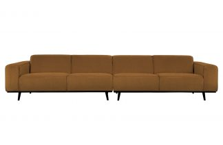 Statement xl 4-seater 372 cm boucle butter