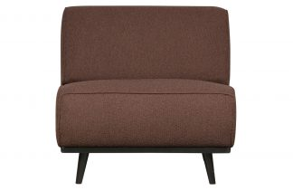 Statement chair boucle coffee