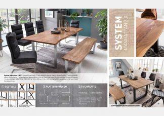 Massive Holztische Katalog Seite 17