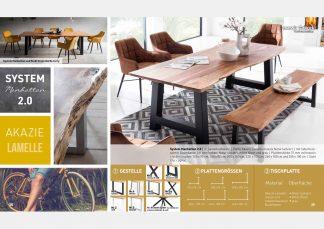 Massive Holztische Katalog Seite 20