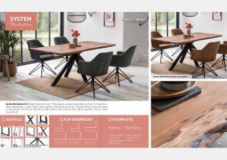 Massive Holztische Katalog Seite 21