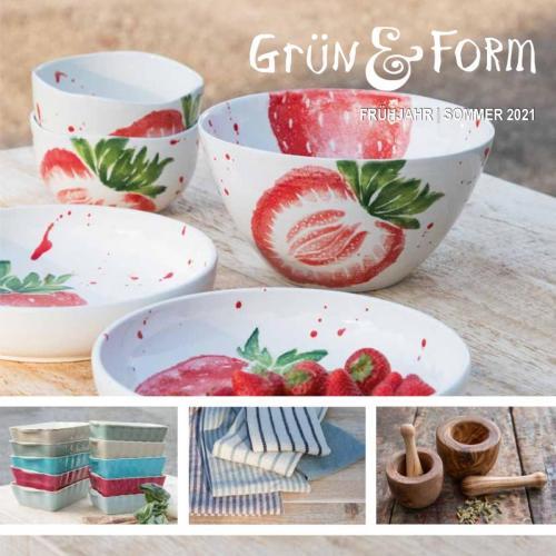 Grün & Form Katalog Seite 1