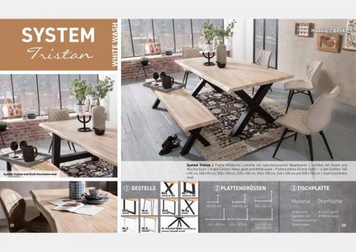 Massive Holztische Katalog Seite 12