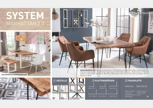Massive Holztische Katalog Seite 16