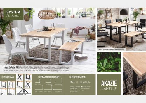 Massive Holztische Katalog Seite 22