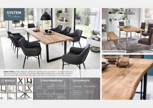 Massive Holztische Katalog Seite 4