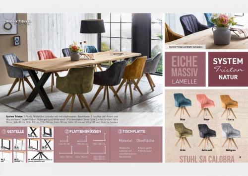 Massive Holztische Katalog Seite 5