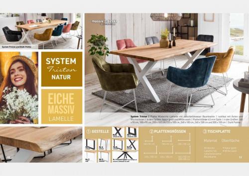 Massive Holztische Katalog Seite 6